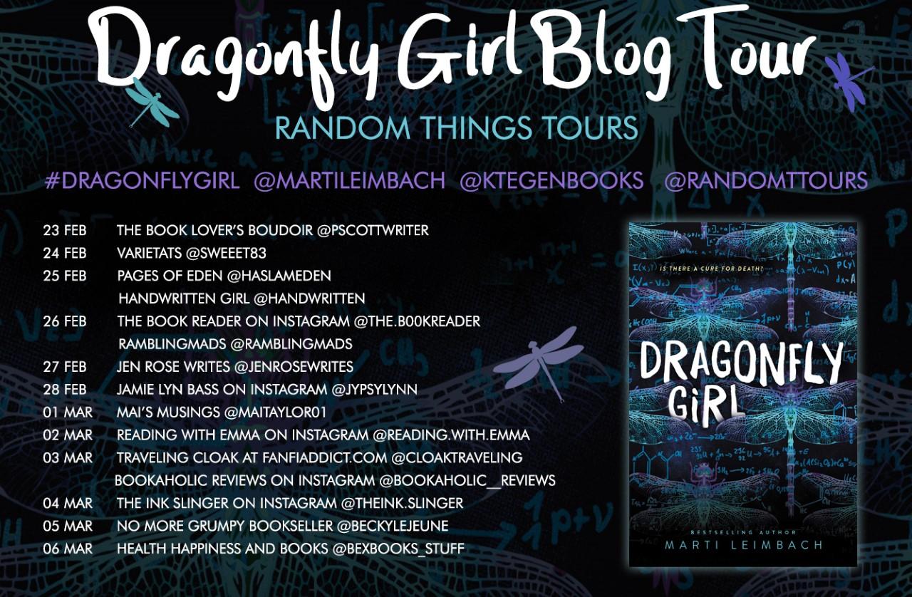 Dragonfly Girl BT Poster